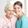 patient and caregiver