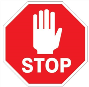 stop sign graphic