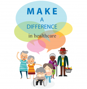make a difference in healthcare