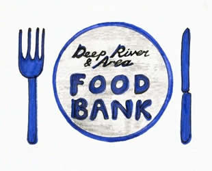 Deep River & Area food bank logo